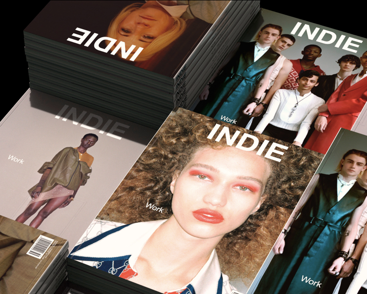 15 YEARS OF FASHION PUBLISHING: INDIE MAGAZINE CELEBRATING IT'S 60TH ISSUE 2018!  Art Direction by Timo Schmitt