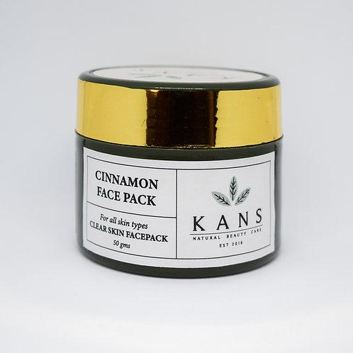 Cinnamon face pack