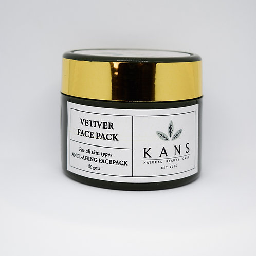 Vetiver face pack