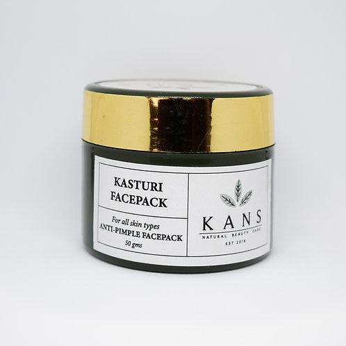 Anti Pimple Kasturi Face Pack - Natural