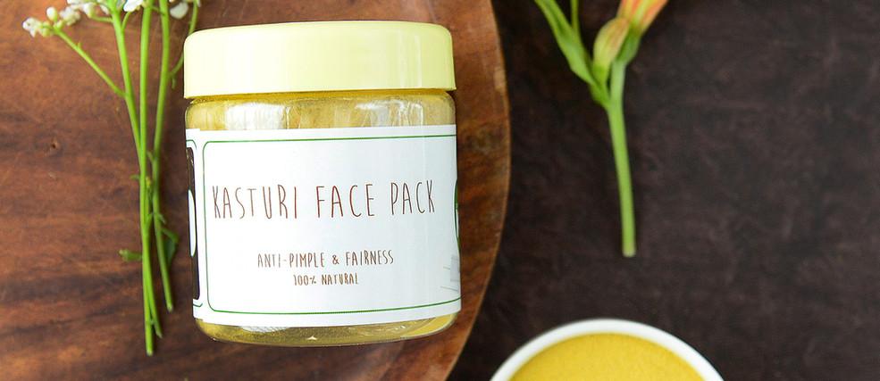 Kan_s Naturals - Kasturi face pack - 01.