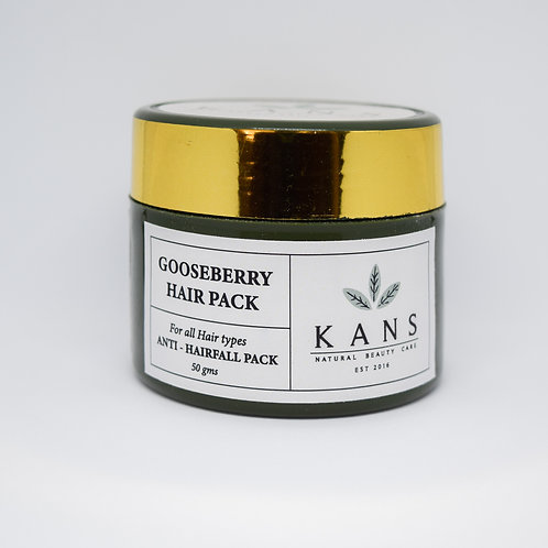 Anti Hairfall Gooseberry Hair Pack - 100% Natural