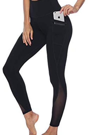 Women's Mesh Yoga Pants