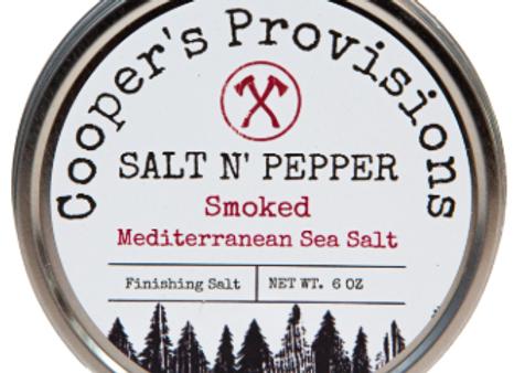 """Salt and Pepper"" Smoked Mediterranean Sea Salt"