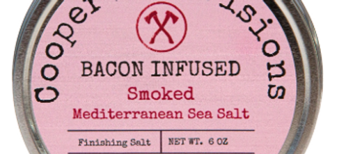 """Bacon Infused"" Smoked Mediterranean Sea Salt"