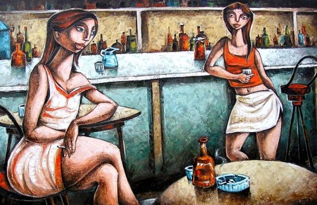 Notte al bar