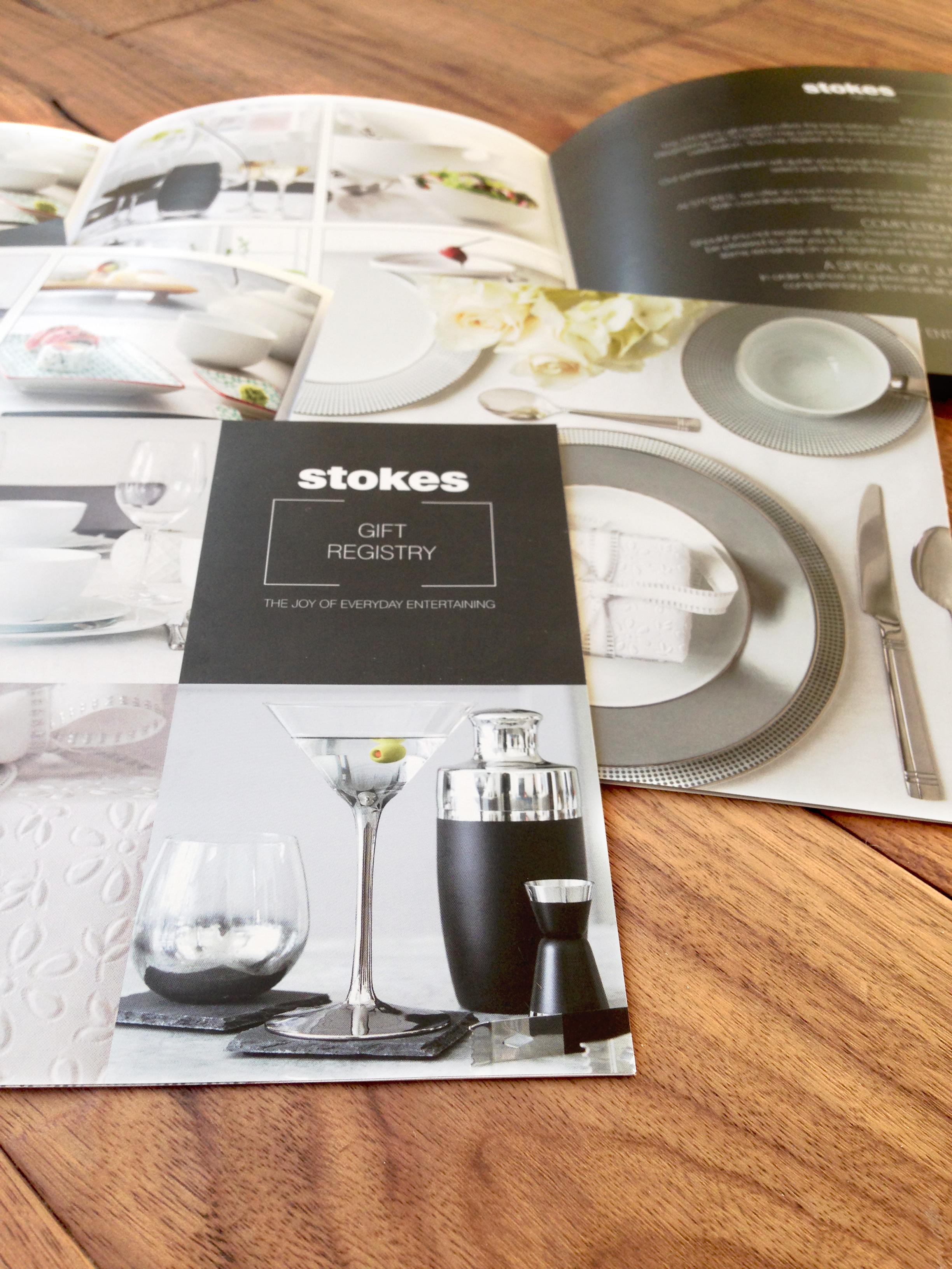 Registre de Cadeau Stokes