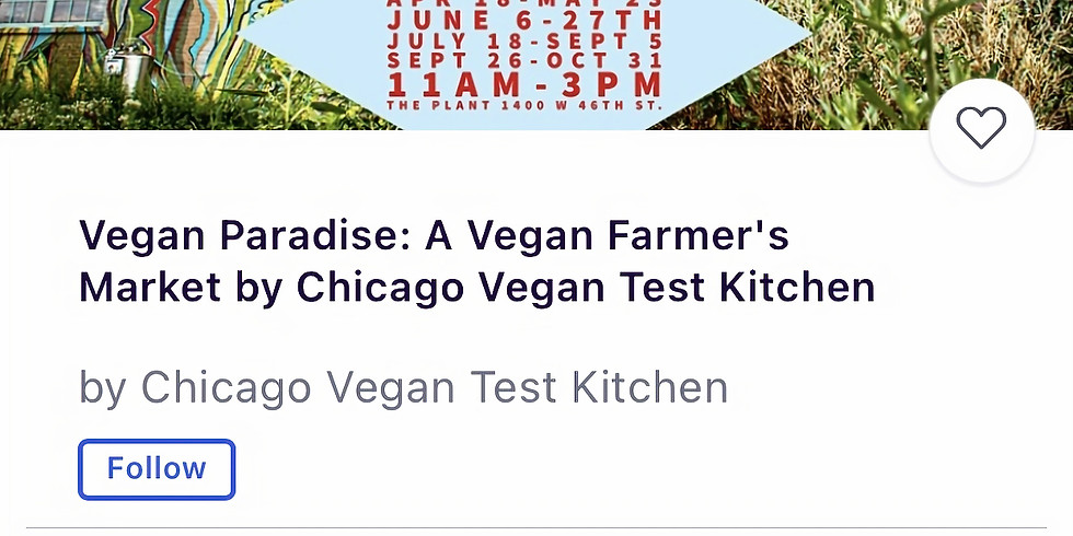 Vegan Paradise by Chicago Vegan Test Kitchen