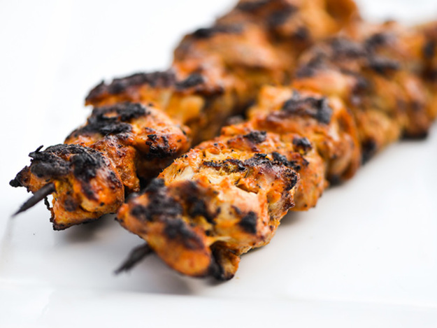 Grilled Chicken Shish Kehab