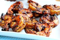 Grilled Shrimp Shish Kehab