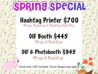 Spring Special Promotion