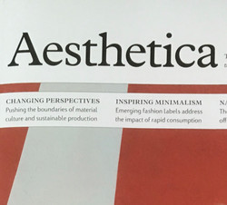 Aesthetica Art Magazine 2018
