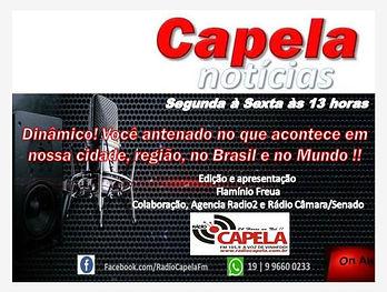 programa capela notícias rádio capela fm vinhedo