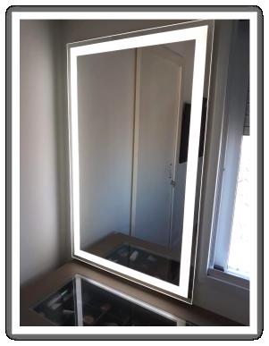 espelho iluminado para maquiagem instalado no ipiranga zona sul de são paulo