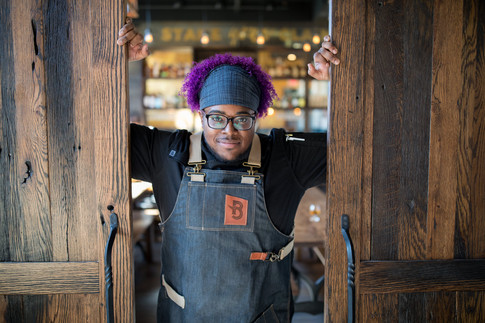 Chef Christian Gill Boomtown Biscuitbar