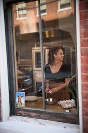 Blair Fornshell, owner and baker @ Brown Bear Bakery