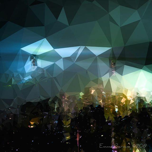 Emma Barone, Geometric Cityscape