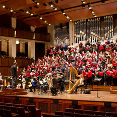 At the Kennedy Center with the Washington Chorus