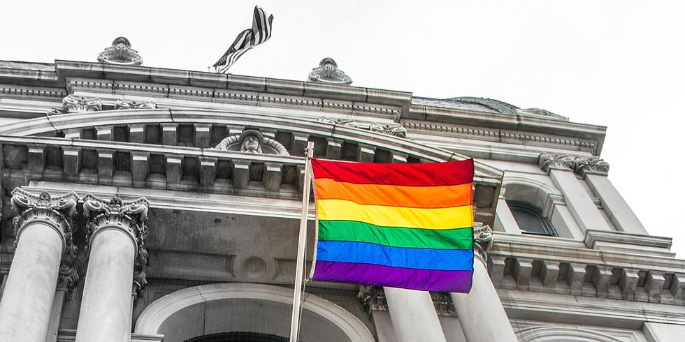 Providence Rainbow Flag Raising
