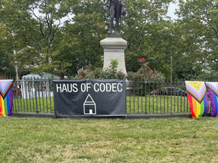 Haus of Codec Centers LGBTQ & BIPOC Businesses, Performers and Campaigns at Monthly Marketplace