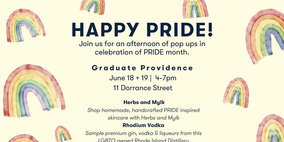 Graduate Providence Pop Ups