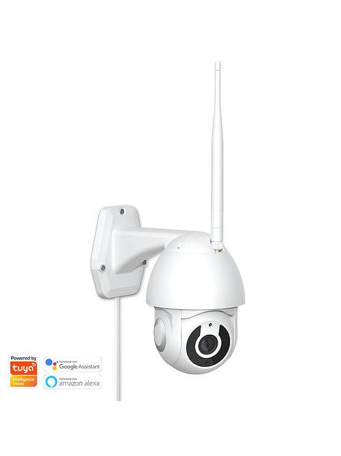 Cámara Exterior FHD 1080p PTZ Motorizada Inteligente WiFi
