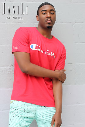 """""""CLT Champ"""" Tee - Red"""
