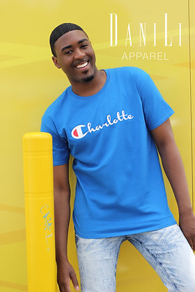 """CLT Champ"" Tee - Blue"