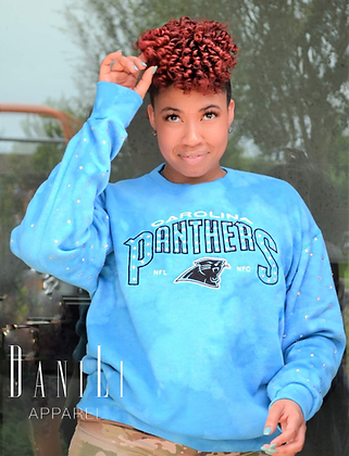 Vintage Panthers Bling sweatshirt