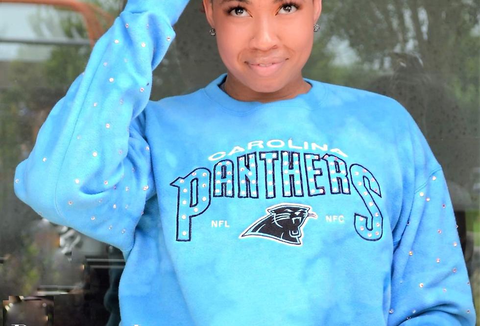 Vintage Panthers Bling sweatshirt