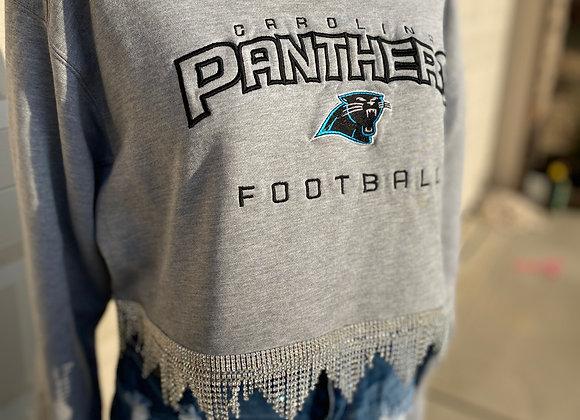 Panthers Bling Sweatshirt