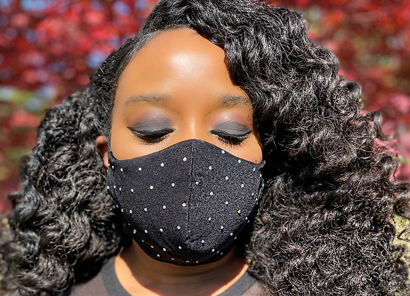 Crystal Stud Mask