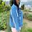 Thumbnail: Pearl Fringe Denim jacket