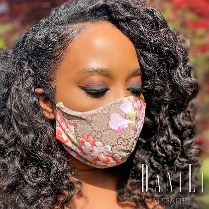 GG Floral Mask