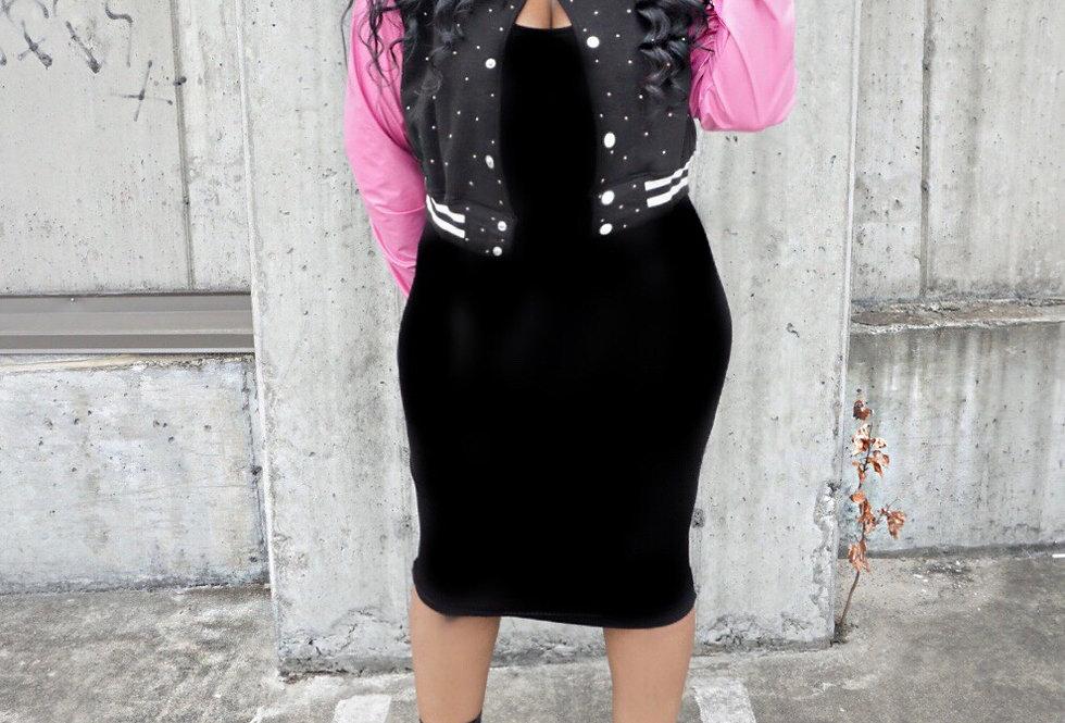 Dolly Diamond Varsity Jacket