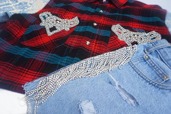 Crystal Flannel Shirt