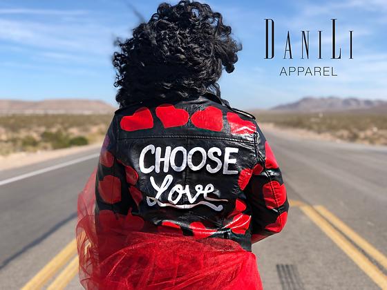Choose Love Moto Jacket