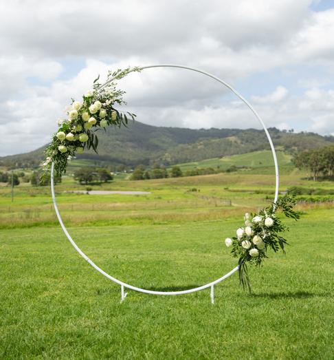 White Round Arch