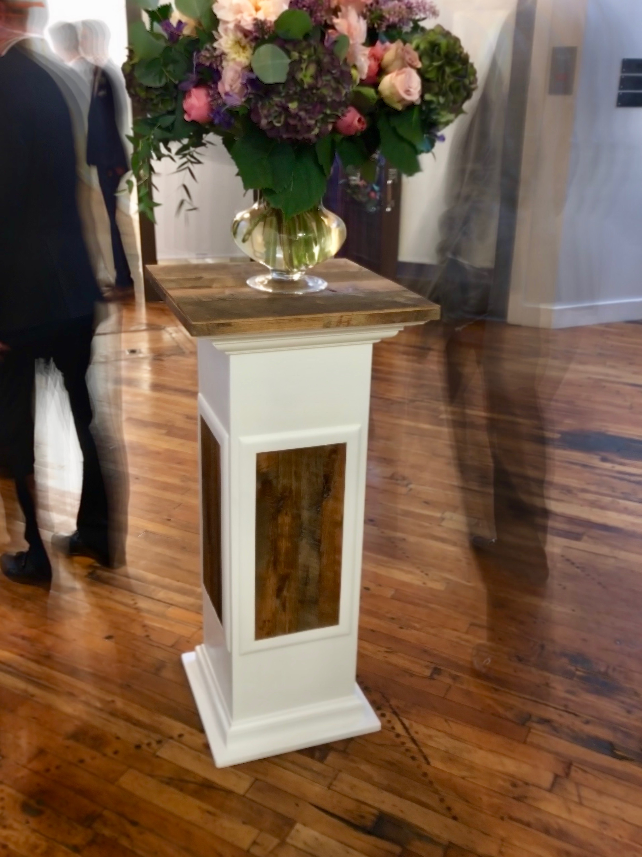 Wedding Bouquet Pedestal