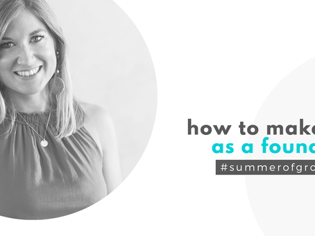 How to make it as a founder with Tanja Sternbauer
