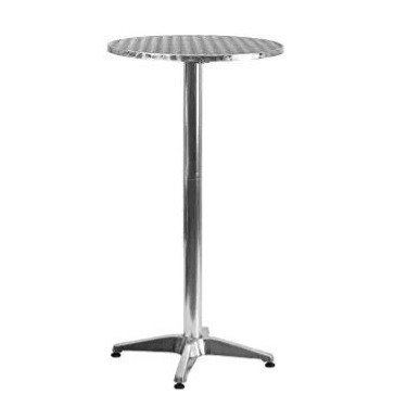 """Silver High Top Table (23"""")"""