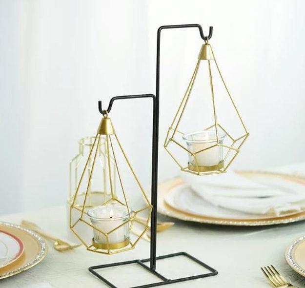 Hanging Geometric Tealight