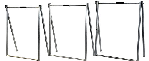 "EZee Post Custom Metal ""A"" Frame Open House Sign Kit, Frames Only,  3-Pack"