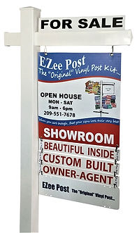 White Real Estate Post by EZee Post
