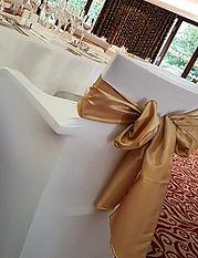 gold sashes