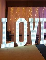 4ft LOVE lights