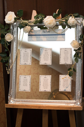 Silver table plan