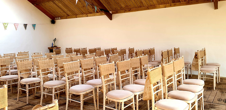 rustic chair sashes