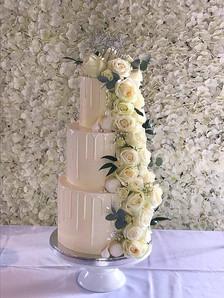 Cake backdrop