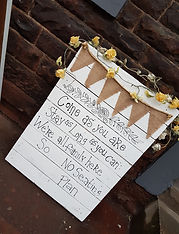 sign to direct your guests